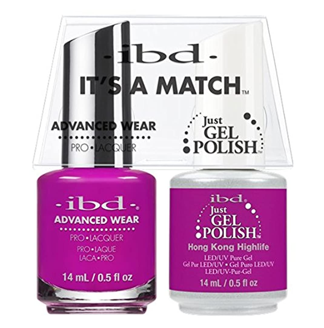 球体ニックネーム唇ibd - It's A Match -Duo Pack- Destination Collection - Hong Kong Highlife - 14 mL / 0.5 oz Each