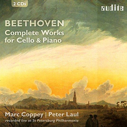 ベートーヴェン:チェロとピアノのための作品全集 / マルク・コッペイ | ペーター・ラウル (Beethoven Complete Works for Cello & Piano / Marc Coppey | Peter Laul) [2CD] [Import] [日本語帯・解説付]