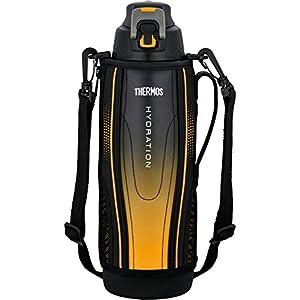 サーモス 水筒 真空断熱スポーツボトル 【ワンタッチオープンタイプ】 1.5L ブラックグラデーション FFZ-1502F BK-G
