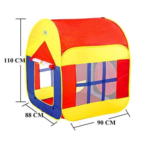 LifeVC キッズテント 子供用遊具テント ベビープレイ 室内 室外 折り畳み式のおもちゃゲーム