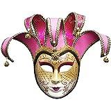 ベネチアンマスク、レディマスカレードノベルティフルフェイスマスクハロウィンカーニバルパーティーボールマスク,すべての女性のために