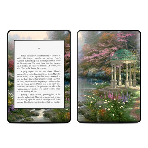 【Kindle Paperwhite スキンシール】 DecalGirl - Garden Of Prayer