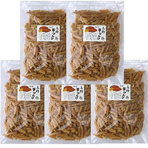 飯尾産業 【訳あり メガ盛り】 芋けんぴ たっぷり 2.5kg (500g × 5個) お徳用 国産さつまいも使用
