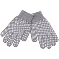 Fenteer 耐久性 ニット手袋 ピンプルグリップ グローブ 馬術スポーツ用 アクセサリー 全2サイズ