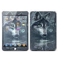 Apple iPad Mini Retina(旧iPad mini非対応)用スキンシール【Wolf Reflection】