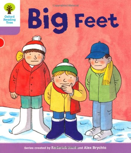 Oxford Reading Tree: Level 1+: First Sentences: Big Feetの詳細を見る