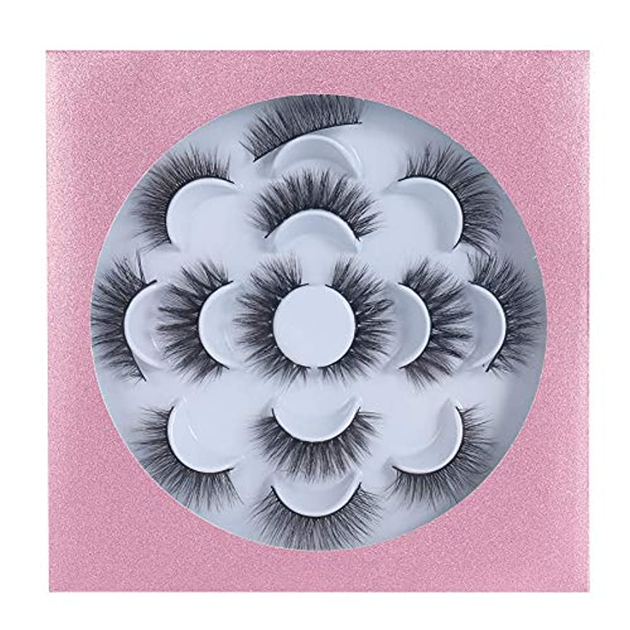 伝記ディスコ不良品GEQ-Distance つけまつげ 高級繊維 手作業 アイラッシュ やわらかい まつげ 自然 人気 つけまつ毛 3D 大きい目 付けまつ毛 7ペア