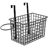 WINOMO ドライヤーホルダー 浴室収納 多機能 ヘアドライヤーホルダー ドアハンガー 収納ボックス(黒)