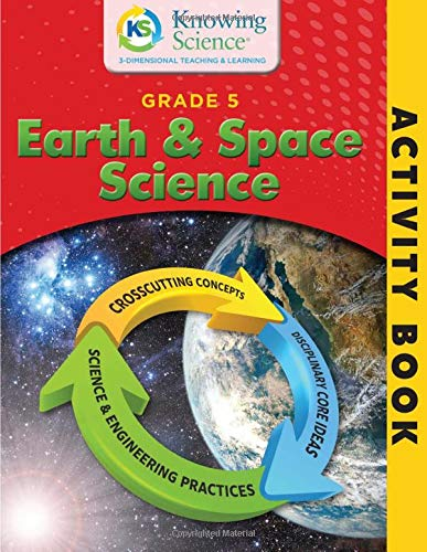 Download Grade 5 Earth And Space Science Activity Book (BW) (Knowing Science Activity Books) 1986352587