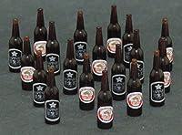 1/12 ビール瓶 20本セット B ミニチュア