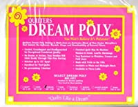Quilter's Dream Poly Batting - Select -White-Mid-Loft - King by Quilter's Dream Cotton Batting
