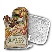グローブ 感謝祭の七面鳥 耐熱ミトン 業務用 オーブンミット 滑り止め 厚手 手保護 手袋 熱くない 鍋つかみ 調理用 手袋 おしゃれ キッチン手袋 電子レンジ オーブン バーベキュー