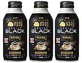 アサヒ飲料 「『ワンダ』はたらくアタマに アシスト」ブラック 400g ×3本