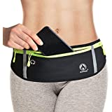 Running Belt for Men Women, Comfortable Fanny Pack Waist Pack Bag Belt Pouch for Fitness, Workout, Jogging - Phone Holder for Running Fits Apple iPhone 11 Pro XR XS Max 8 Samsung Galaxy S10 S9