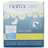Natracare Natural Ultra Pads Organic Cotton Cover, 12 Count