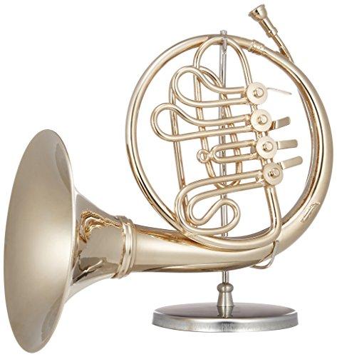 [해외]SUNRISE SOUND HOUSE 선 라이즈 사운드 하우스 미니어처 악기 호른 골드/SUNRISE SOUND HOUSE Sunrise Soundhouse Miniature instrument French horn gold
