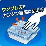 ジップロック コンテナー 保存容器 正方形 700ml 2個 画像