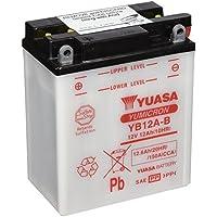 GS YUASA / YB12A-A (SB12A-A, YB12A-AK, GM12AZ-4A-1, FB12A-A互換) バイク用 バッテリー 開放型