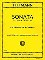 TELEMANN - Sonata en Fa menor (TWV:41/F1) para Trombon y Piano (Ostrander/Veyron Lacroix)