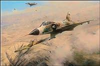 1つMigダウン、byロバート・テイラー–IAFミラージュ航空アート 400 Limited Edition