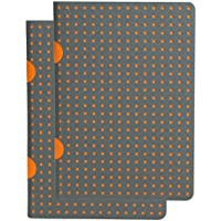 Paperblanks Paper Oh Cahier Circulo Grey on Orange / Grey on Orange OH9202-5