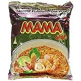 MAMA Instant Ramen Noodle, Tom Yum Shrimp Flavor Pack Of 10