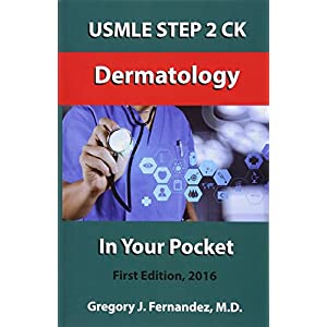 USMLE Step 2 Ck Dermatology in Your Pocket