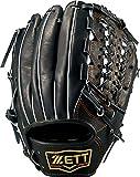 ZETT(ゼット) 軟式野球 プロステイタス グラブ (グローブ) 新軟式ボール対応 サード用 ブラック(1900) 右投げ用 BRGB30970