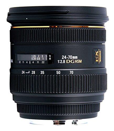 SIGMA 標準ズームレンズ 24-70mm F2.8 IF EX DG HSM キヤノン用 フルサイズ対応 571542