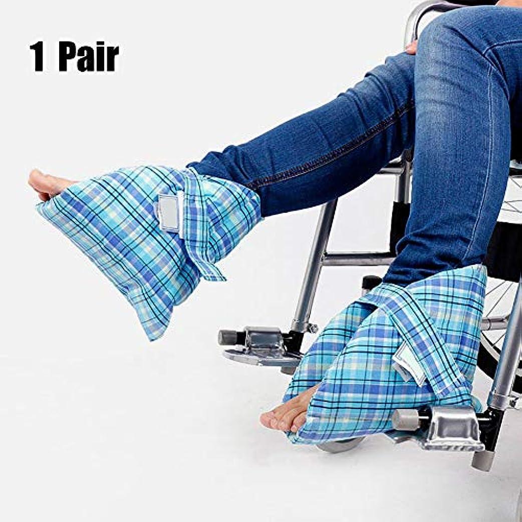 幻滅する結婚したランドマーク足枕かかと保護パッド、効果的なpressure瘡とかかと潰瘍の軽減、腫れた足に非常に適した、快適なかかと保護足枕、ペア