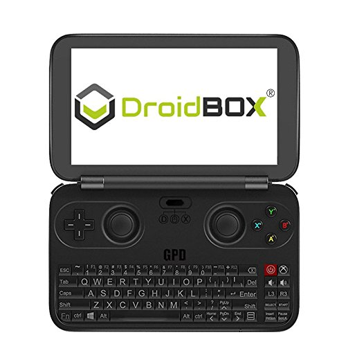 GPD WIN 黒 + 液晶保護フィルム付属 (Windows10 /5.5inch /IPS液晶 /Intel Atom X7 Z8700) (4GB/64GB)(US...