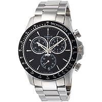 [ティソ] TISSOT 腕時計 V8 ブラック文字盤 ブレスレット T1064171105100 メンズ 【正規輸入品】