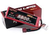 KT2200 3S 30C KyPOM K6シリーズ リポバッテリー 11.1V-2200mAh-30C