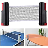 1Pcs Retractable Table Tennis Net Rack PortableReplacement Ping Pong Accessories Red