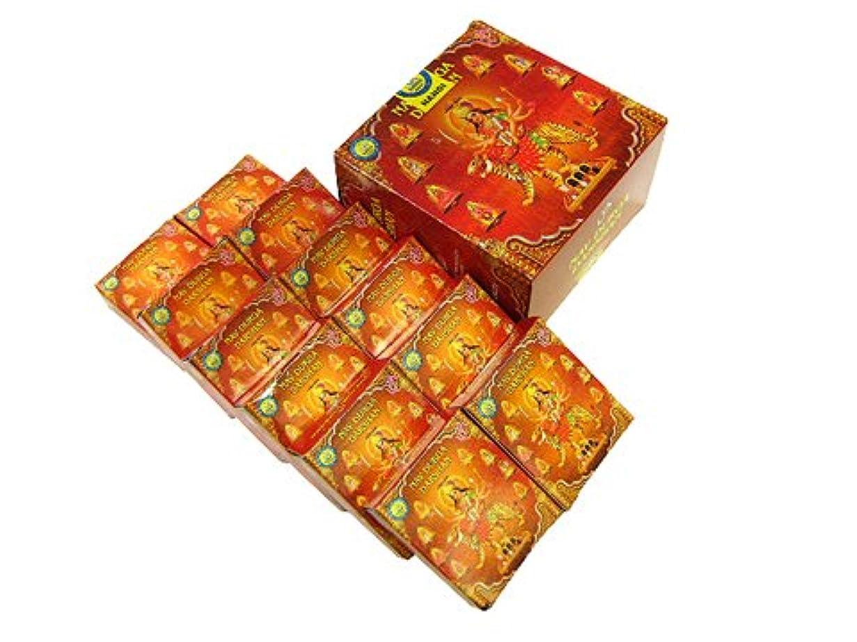 いたずらな赤スローガンDARSHAN(ダルシャン) ナンディ ドゥルガダルシャン香コーンタイプ NANDI NAV DURGA CORN 12箱セット