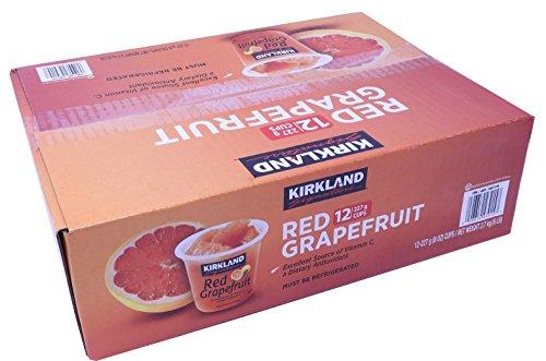 KIRKLAND カークランド レッドグレープフルーツ カップ 227g×12カップ 要冷蔵