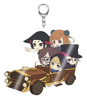 プリンセス・プリンシパル スパイ on ドロシーの車 【きゃらいど】 アクリルキーホルダー
