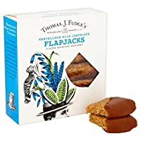 ファッジの素晴らしいミルクチョコレートFlapjacks 1パック8 - Fudge's Marvellous Milk Chocolate Flapjacks 8 per pack [並行輸入品]
