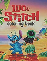 """Lilo and Stich Coloring Book 50 Coloring Pages: Lilo and Stich Coloring Book, Lilo and Stich Books, 50 Different Coloring Pictures, For Kids, Crafts for Children, Coloring Pictures, Childhood Education  (50 Pages, Coloring Pictures, Unlined 8,5""""x 11"""")"""