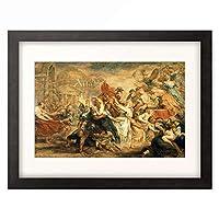 ピーテル・パウル・ルーベンス Peter Paul Rubens 「Rape of the Sabine Women」 額装アート作品