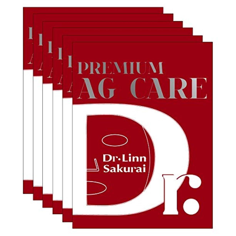 臨検やりすぎ部分的にドクターリンサクライ フェイシャルマスク プレミアムAGケア (6包)