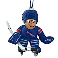ファイナルタッチギフトNHL Hockey Player Ornament