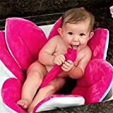Karchi ベビー風呂桶 湯桶 赤ちゃんのお風呂 立ったまま沐浴 座浴 新生児用ベビーバス 全7色 (ホット-ピンク)