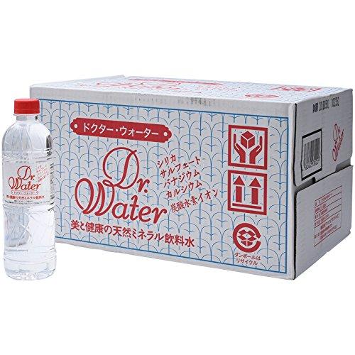 Dr.Water ミネラルウォーター ペット 500mlx24本