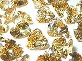 直径10mm×3個set ハートシェイプ 最高品質AAAAAキュービックジルコニア ルース 裸石 10ミリ お選びいただきご注文下さい (シャンパン)