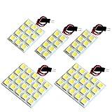 【断トツ204発!!】 AZR60系 ノア LED ルームランプ 5点セット [H13.11~H19.5] トヨタ 基板タイプ 圧倒的な発光数 3chip SMD LED 仕様 室内灯 カー用品 HJO
