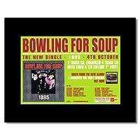 ボウリング・フォー・スープ–1985ミニポスター–21x 13.5