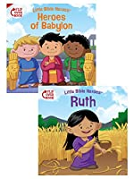 Heroes of Babylon / Ruth: Flip Over Book (Little Bible Heroes)