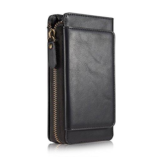 アイフォンXS Max ケース 財布型、KingTo 分離式...