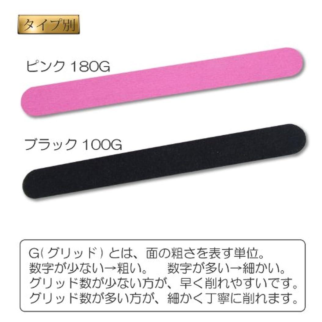 届けるマンモス文エメリーボード【爪やすり】 (ブラック100G)